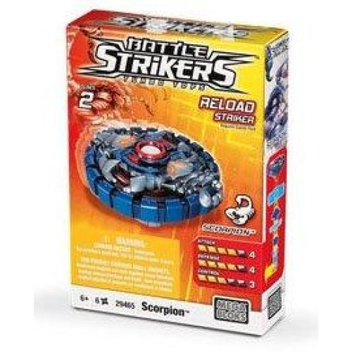 Magnext Battle Strikers Turbo Tops #29465 Scorpion