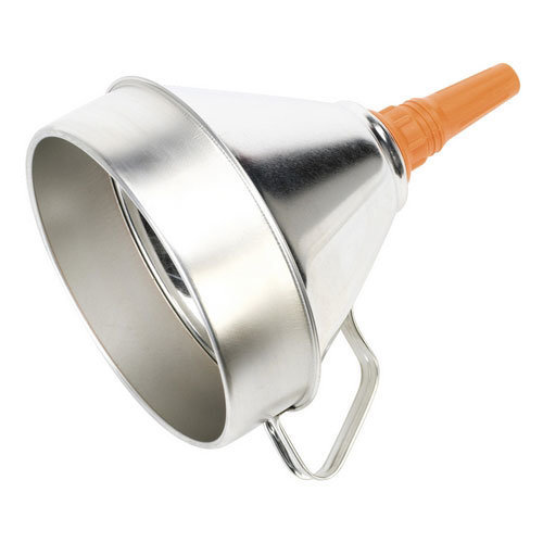Sealey FM20 200mm Metal Funnel with Filter
