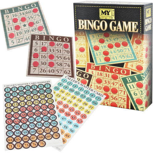 Traditional Bingo Game