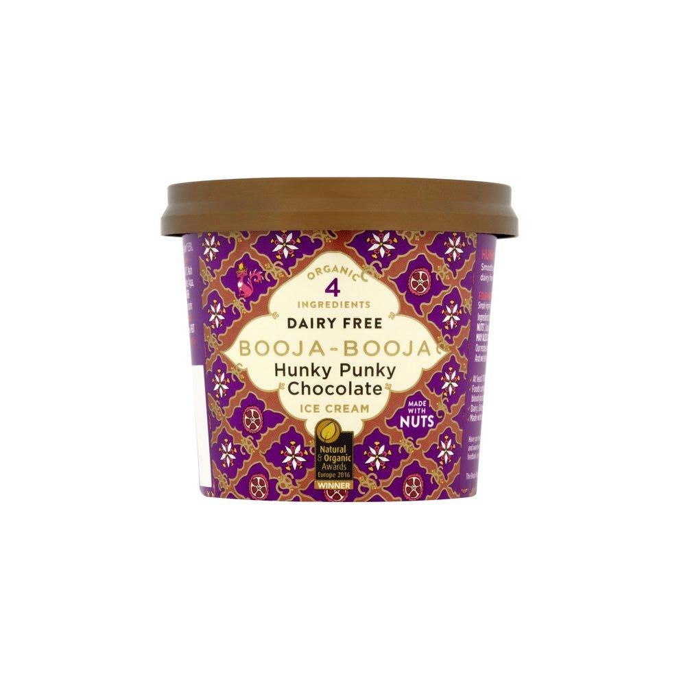 Booja Booja Hunky Punky Chocolate Alternative To Dairy Ice Cream 110ml