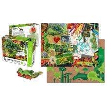 Madagascar 48 piece Floor Puzzle - WWF