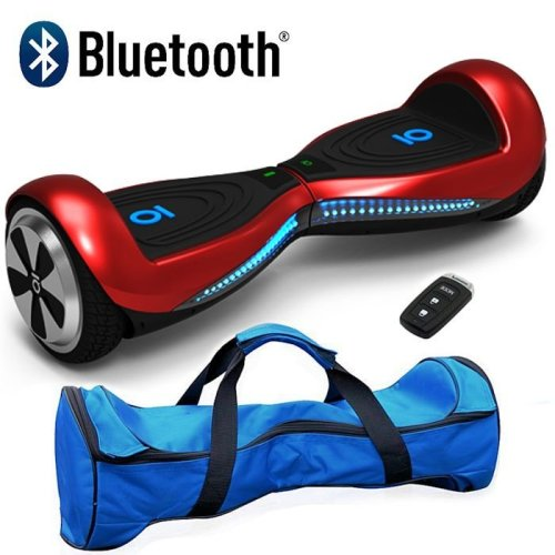 Red Chic IO Bluetooth Segway Hoverboard Swegway