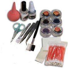 Professional Makeup False Fake Eyelash Eye Lashes Extension Cosmetic Set Kit
