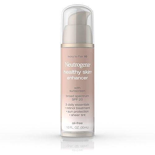 Neutrogena Healthy Skin Enhancer, Broad Spectrum Spf 20, Ivory To Fair 10, 1 Oz