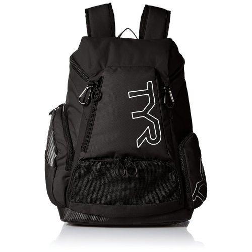 TYR Unisex's Alliance 45L Backpack Black, Size 45/Large
