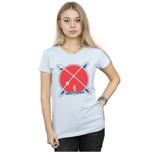 Marvel Women's Ant-Man Planet Logo T-Shirt