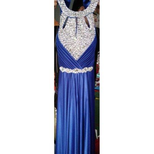 Long Purple Prom Dresses Sexy Halter Women Elegant Floor-length Formal Wedding Party Bridesmaid Prom Gown
