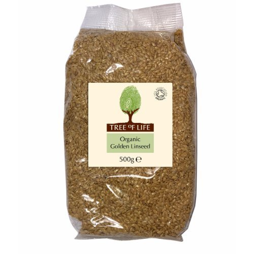 Tree Of Life  Organic Linseed - Golden 500g x 6
