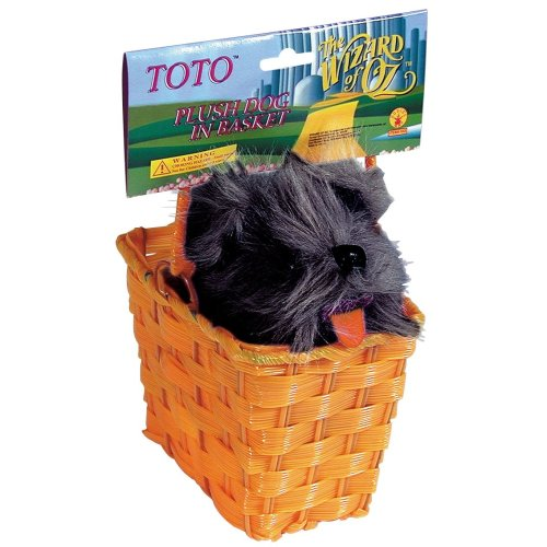 Wizard of Oz Toto in a Basket Prop