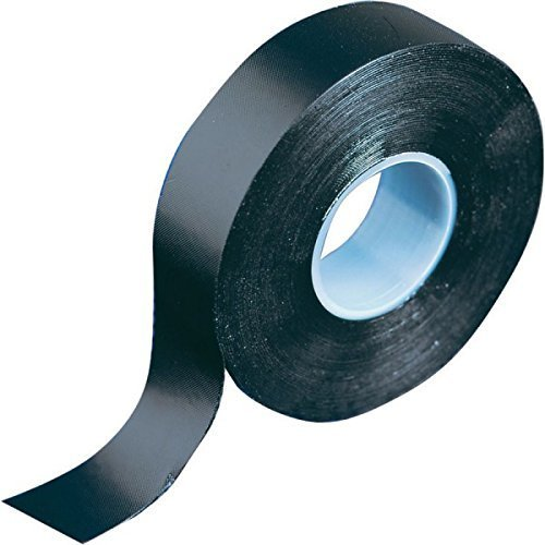 Premium Black Self Amalgamating Rubber Tape - 19mm x 5m - Waterproof Repair - High Quality Roll by Gocableties