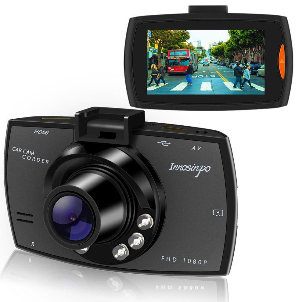 Dash Cam 1080p Full Hd With 6 Ir Led Night Visiondashboard Camera Recorder Vision