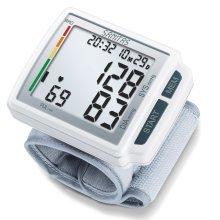 Sanitas Wrist Blood Pressure Monitor White SBC 41