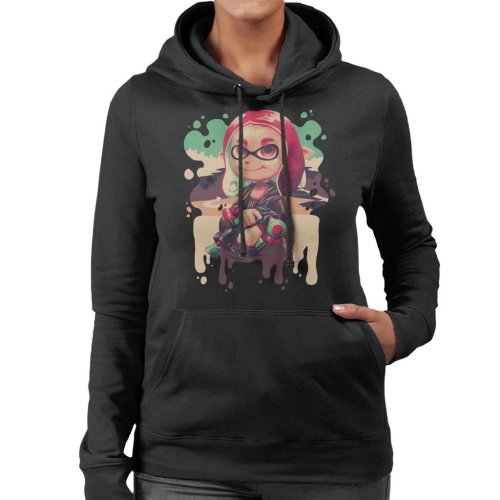 Inkling Lisa Splatoon Women's Hooded Sweatshirt