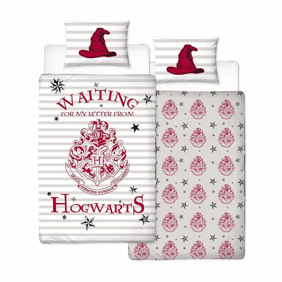 Single Harry Potter Duvet Cover Set Reversible Harry