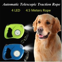 4 LED 4.5 Meters Automatic Telescopic Traction Ropes
