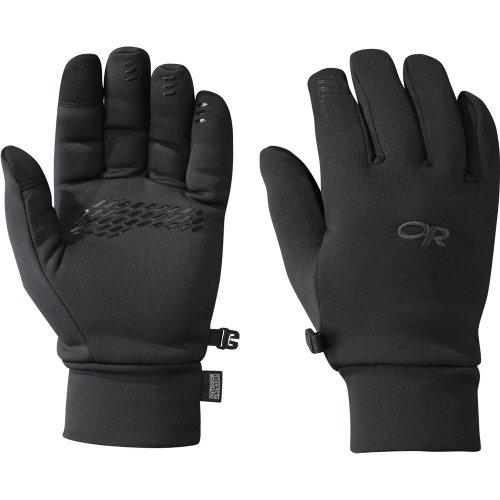 Outdoor Research Mens PL 400 Sensor Gloves Black (Medium)