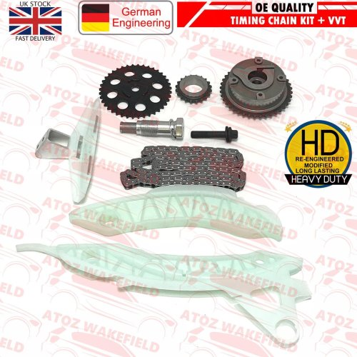 FOR EP6DT EP6CDT N14B16 CITROEN MINI PEUGEOT 1.6 TIMING CHAIN KIT VVT HUB GEAR
