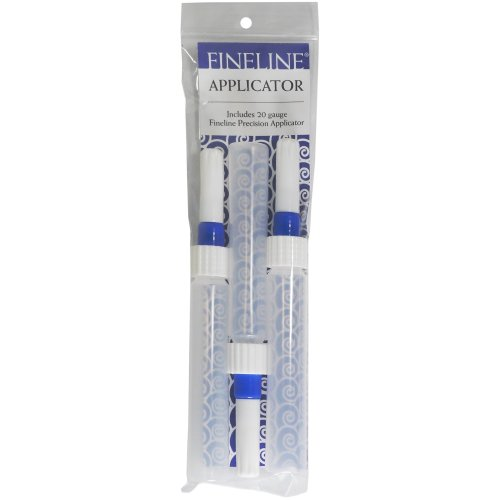 Fineline 20 Gauge Precision Applicators - Empty 3/Pkg-1oz