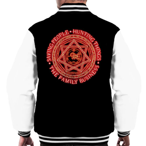 Supernatural The Family Business Men's Varsity Jacket