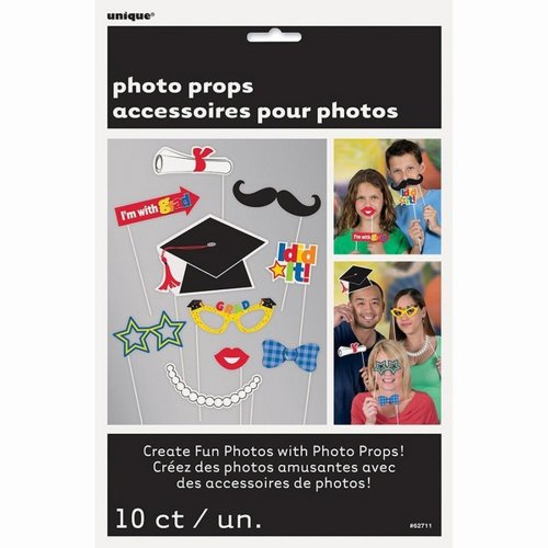 Unique Party Graduation Photo Booth Props