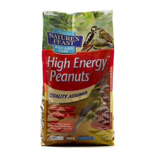 Natures Feast High Energy Peanuts 5kg