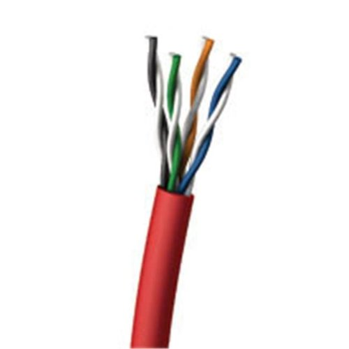Cables To Go 27356 1000ft CAT 5E 350MHz SOLID PVC CMR CABLE - RED