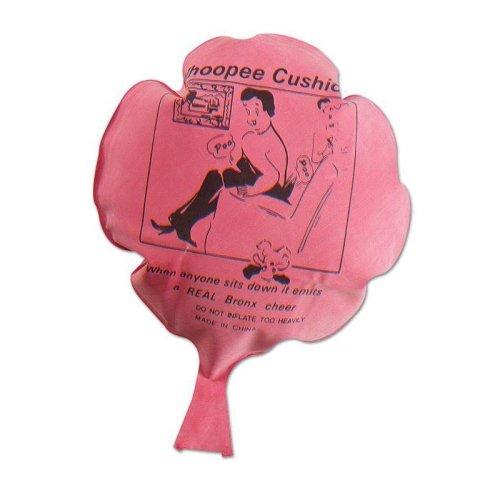 "Whoopee Cushion. 6"" Rubber (asst Colours) - Cushion Joke 6 Fart Funny Prank Toy -  whoopee cushion rubber joke 6 fart funny prank toy stocking filler"