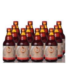 Van Bulck Belgian Organic Wild Fruit Beer 4.7%, Pack of 12