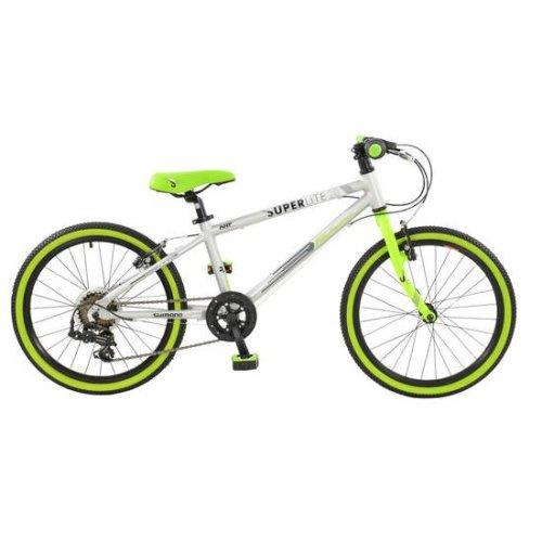 Falcon Boy Superlite Bikes, Lime Green/Silver, 20-Inch