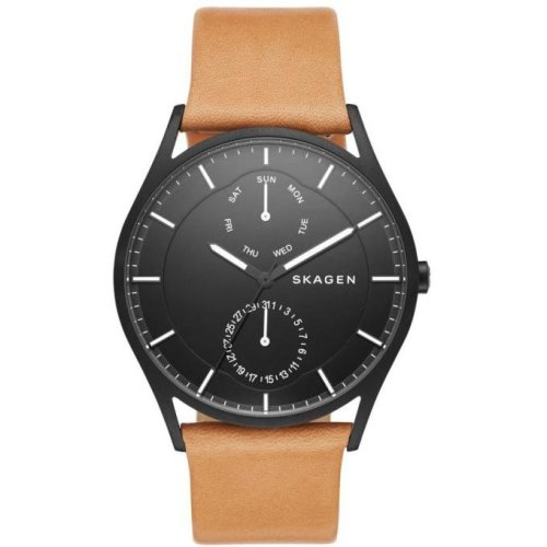 Skagen Watches Holst SKW6265 Smooth Leather Man Watch