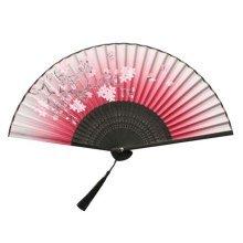 Folding Fan For Women Chinese/Japanese Silk Handheld Folding Fan Handheld Fan