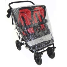 Mountain Buggy Duet Pushchair Compatible Rain Cover | Double Buggy Cover