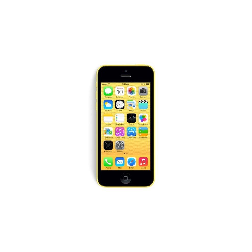 Orange, 16GB Apple iPhone 5c Yellow