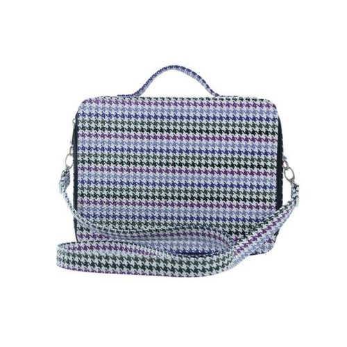 Picnic Gift 7120-HT Cosmopolitan-Insulated Adjustable Make Up Travel Organizer, Houndstooth