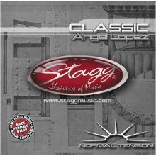 Stagg CLNTAL Nylon/Silver Plated Wound Set of Strings for Classical Guitar