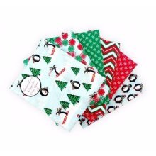 Fat Quarter Bundle - 100% Cotton - Ski Penguins - Pack of 6