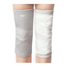 Thicken Knee Brace Sleeve for Sports/Yoga/Dance/Arthritis/Joint Pain Gray (M)