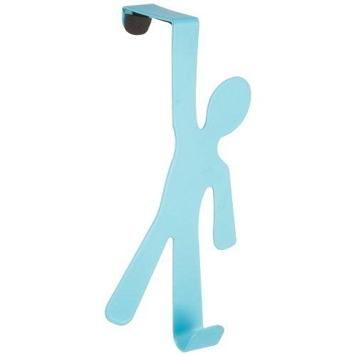 Wenko Boy Door-Mounted Hook, Blue