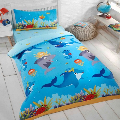 Marine Life Single Duvet Set