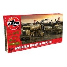 Air06304 - Airfix Diorama - 1:72 - Usaaf Bomber Resupply Set