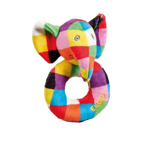 Rainbow Designs  Elmer Ring Rattle