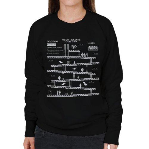Internet Connection Kong Women's Sweatshirt