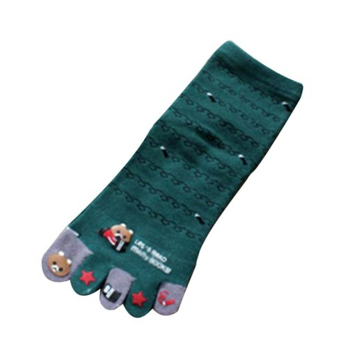 Warmming Indoor/Outdoor Socks Cute Cartoon Tube Toe Scoks