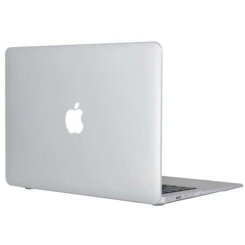 """Topideal Rubberized Matte Hard Case Cover 13"""" MacBook Air 13.3"""" -Clear"""