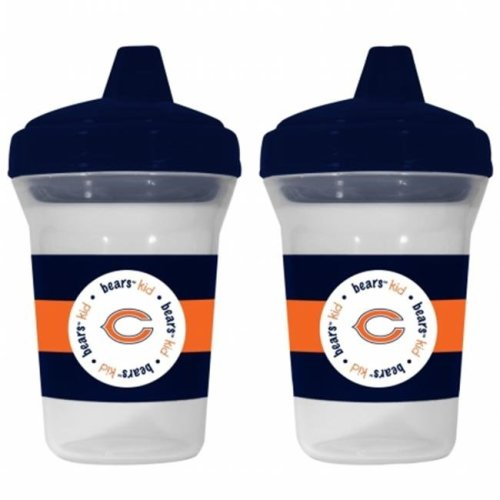 Baby Fanatic 143368 Chicago Bears Sippy Cups 2-pack