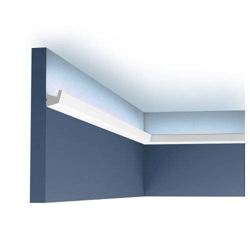 Orac Decor CX189 AXXENT Cornice moulding for indirect lighting 2 m