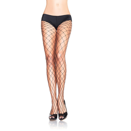 Fence Net Pantyhose QS 46-50 Ladies Lingerie Stockings - Leg Avenue