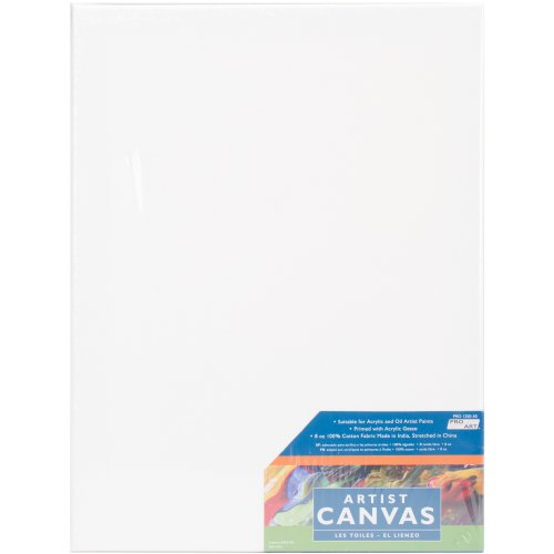 "Pro Art Stretched Artist Canvas-12""X16"""