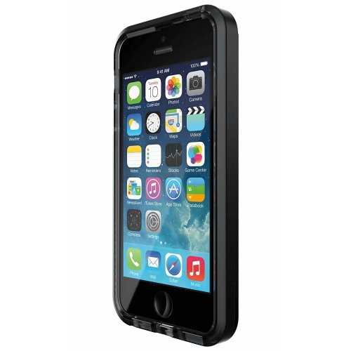 premium selection b3cf3 d3bc8 Tech21 Evo Mesh Case for iPhone 5/5s/SE - Smokey/Black - T21-5172