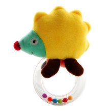 Baby Plush Soft Toy Baby Rattles  Baby Gift  Hand Grasp Rattle, C